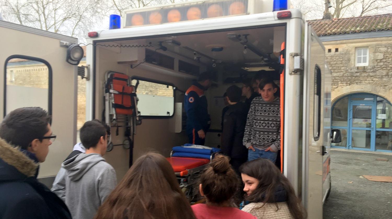 Intervention sécurité protection civile Vendée fontenay-le-comte