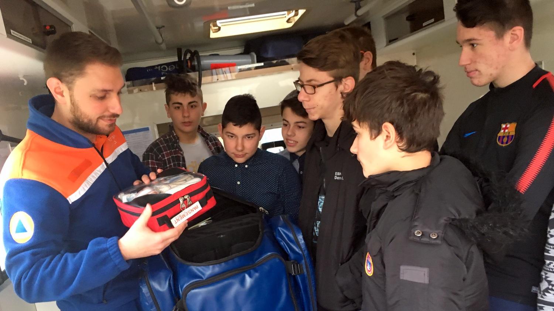 sécurité Intervention protection civile Vendée fontenay-le-comte
