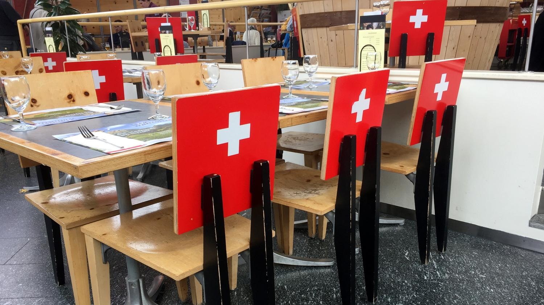 Le gruyère une des spécialités suisse