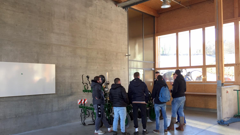 Lundi ferme de Grange Verney Moudon VE Suisse TA Mars 2018 (1)