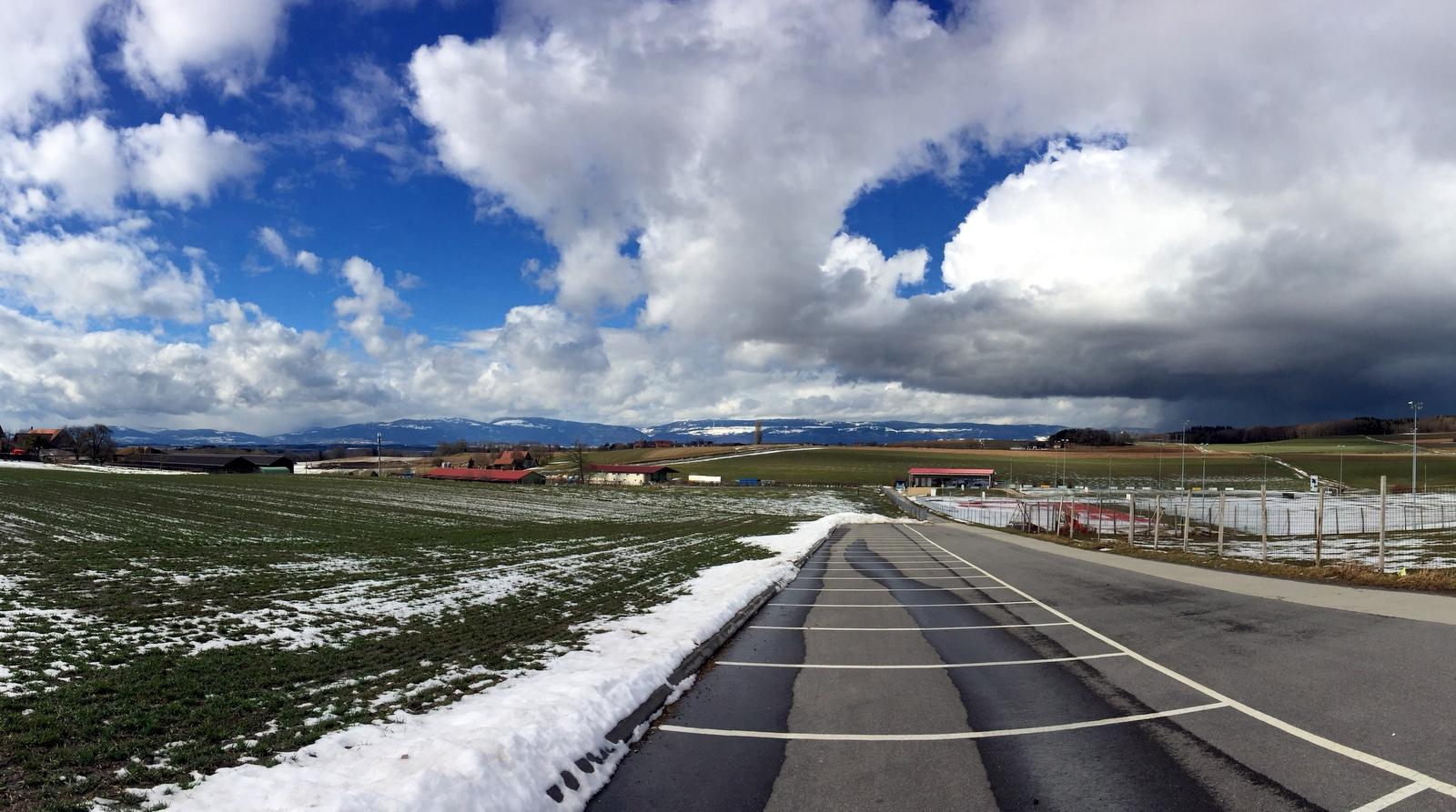 Joli paysage suisse TA CFA MFR Puy-Sec Mars 2018