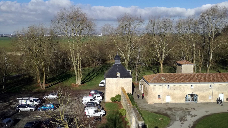 Extérieurs location groupe CFA MFR Puy-Sec Hiver 2018