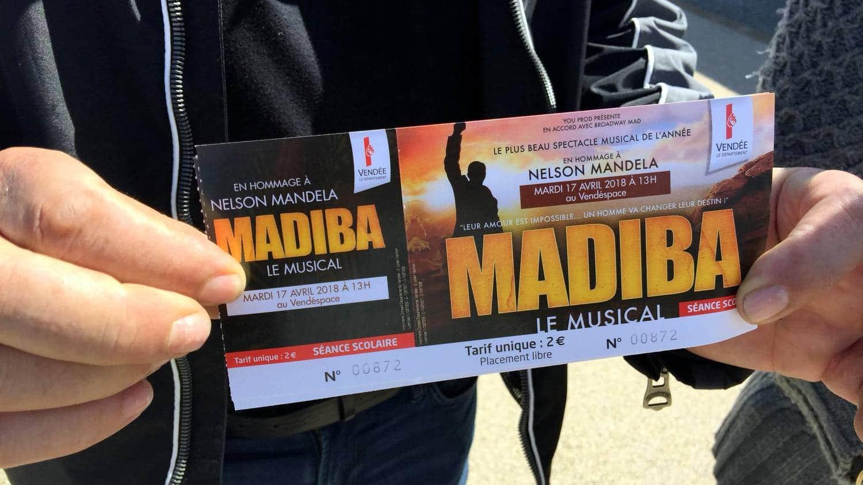 Madiba le Musical Vendéspace Vendée CFA MFR Puy-Sec Avril 2018