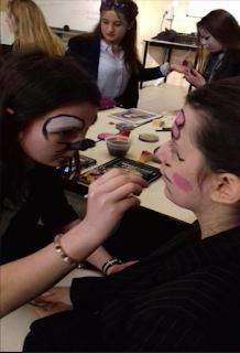 Séance maquillage des CAPa SAPVER