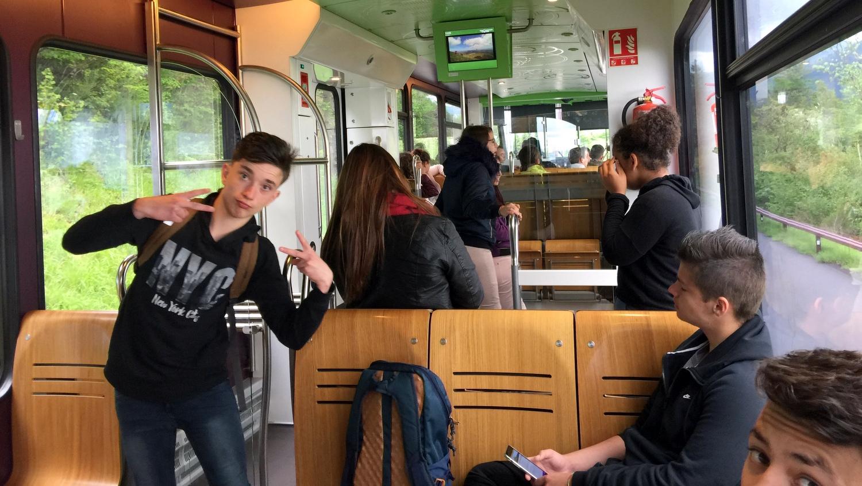 Matinée Puy-de-Dôme Train à crémaillère Volcans Auvergne 2018