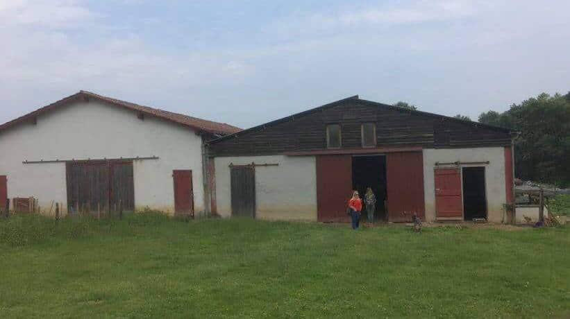 Exploitation à Arrayoa chez Ibarburu Pierre