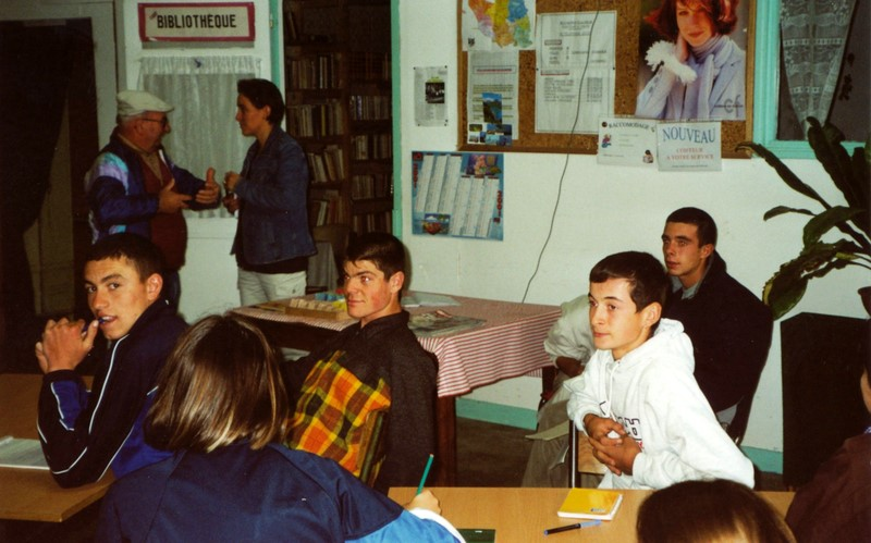 Archives anciens élèves mfr puy-sec 2000 Resto Cœur 1