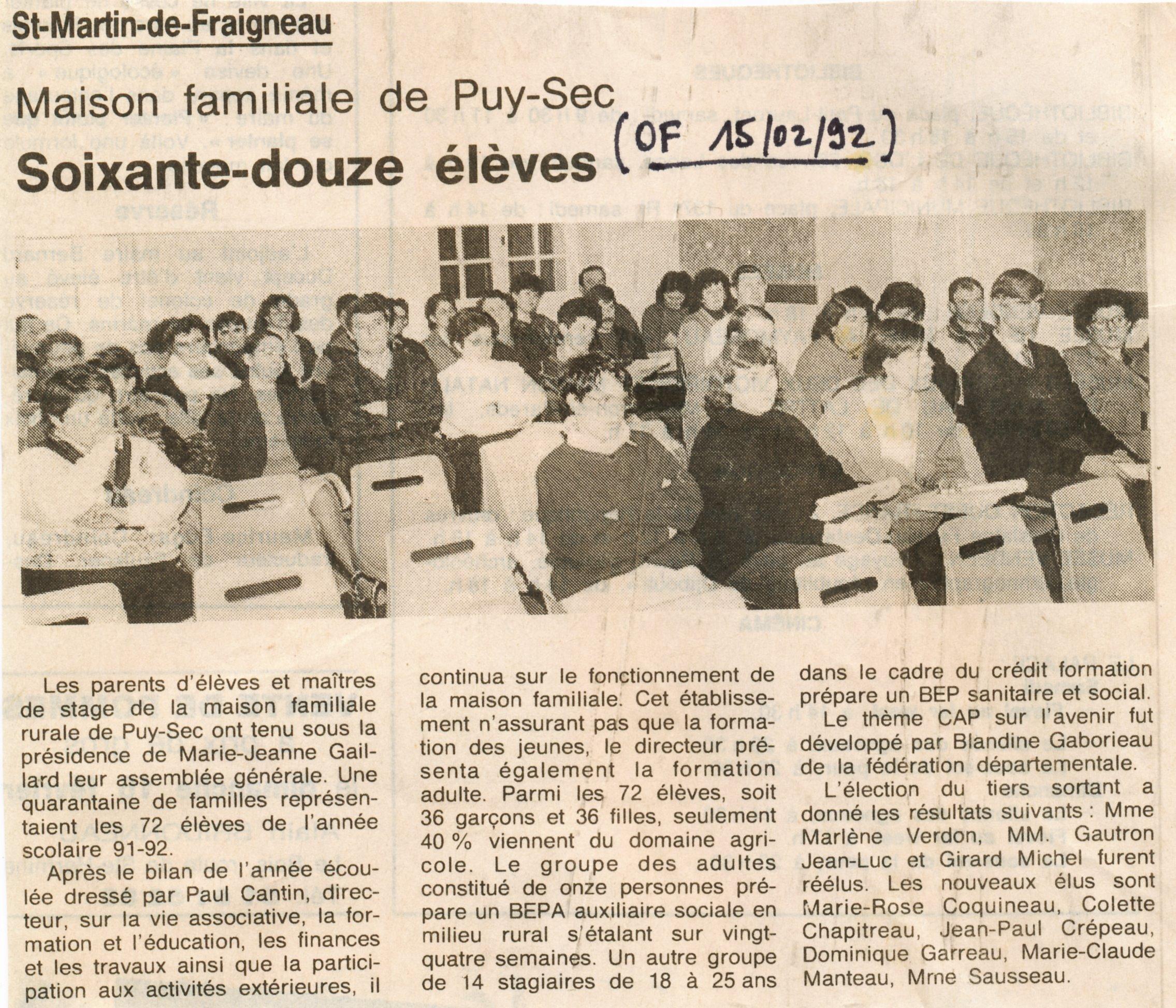 Archives anciens élèves mfr puy-sec 1992 (4)