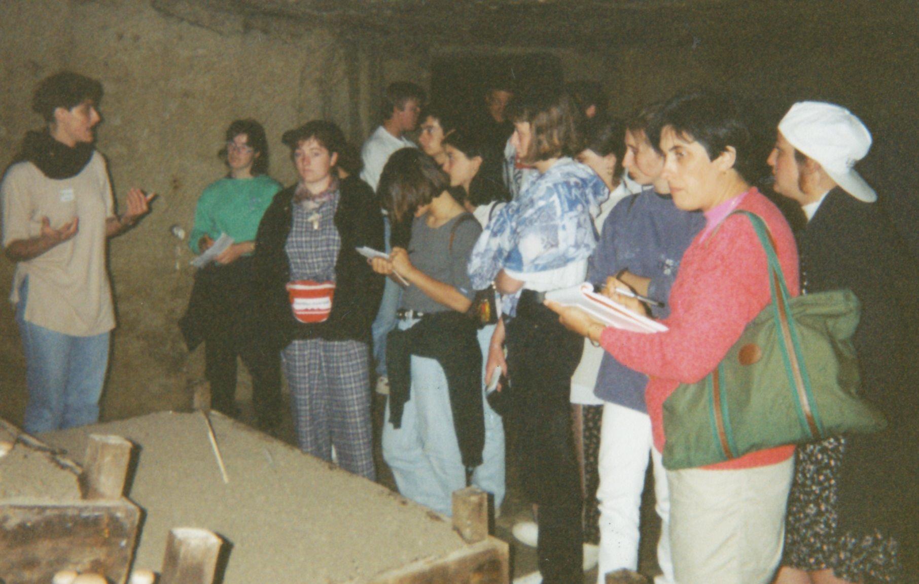 Archives anciens élèves mfr puy-sec 1993 Line SABOURIN Monitrice
