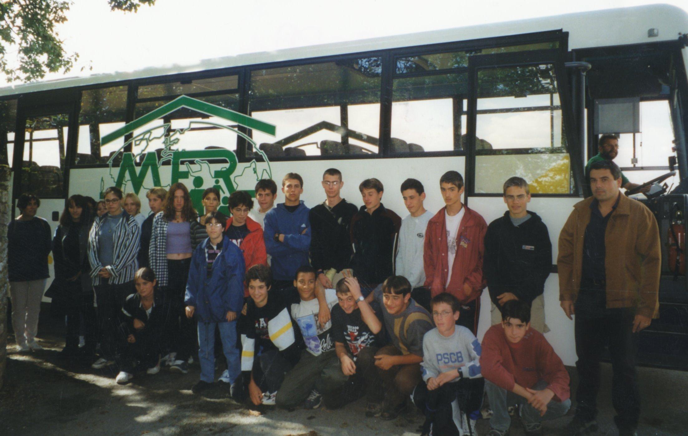 Archives anciens élèves mfr puy-sec 1997 Joel GOGUET et Laurent JAULIN