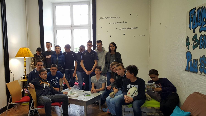 Vie résidentielle au CFA MFR Puy-Sec Pause en foyer de jeunes