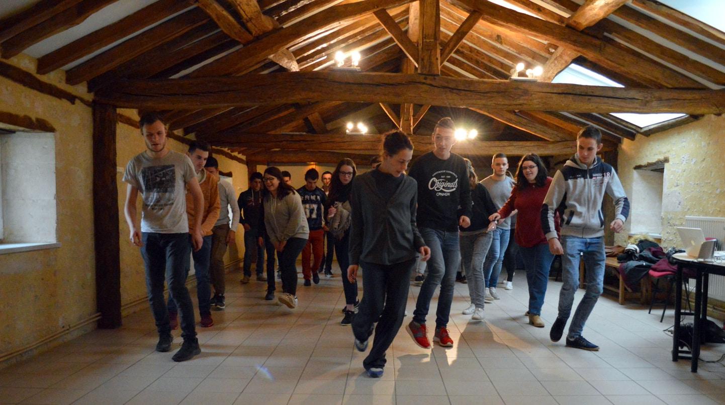 Vie résidentielle au CFA MFR Puy-Sec Initiation danse moderne Hip-Hop