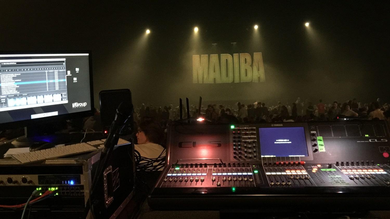 Vie résidentielle au CFA MFR Puy-Sec spectacle Madiba