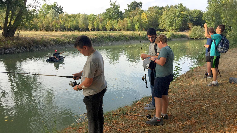 septembre activité pêche 4eme