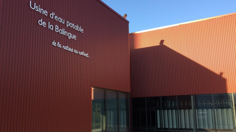 Eau visite Usine Balingue Mervent Sud-Vendée