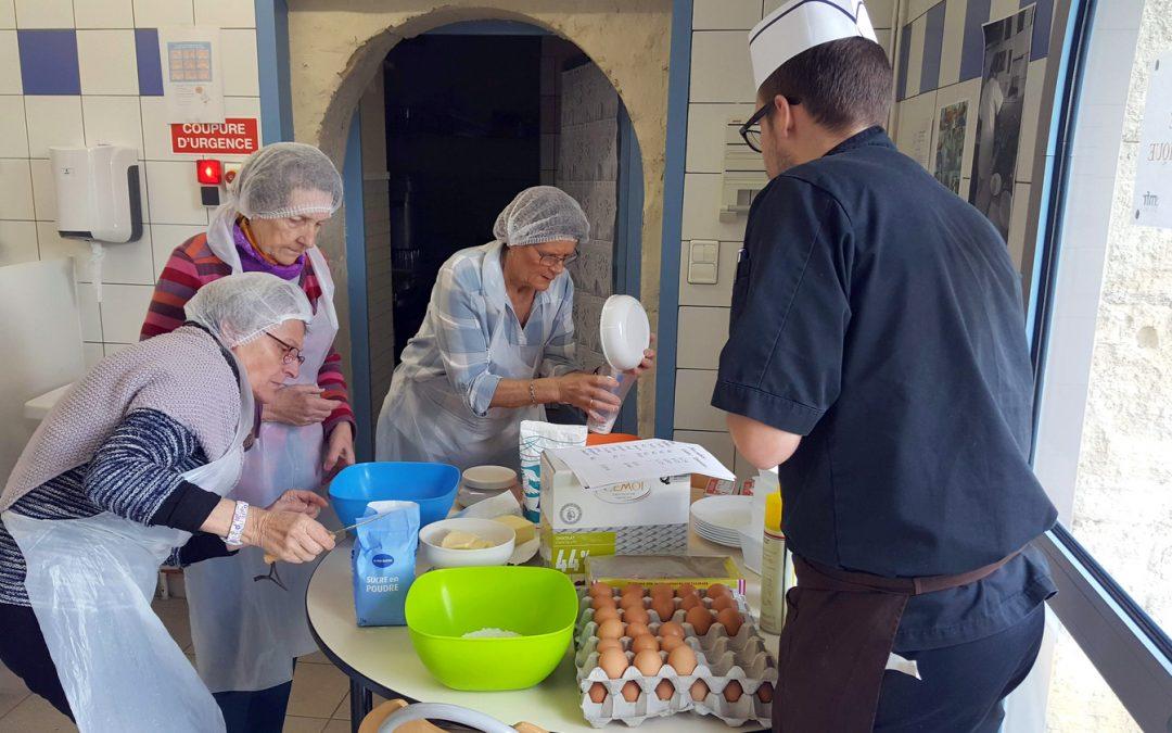 Deux tartes pour adultes au CFA MFR de Puy-Sec