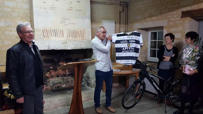Les Charentais offrent leur cadeau Stade Rochelais