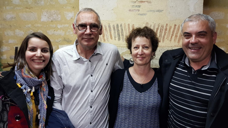Les plus vieux collègues: Laurent JAULIN et Sylvia CHAILLOU
