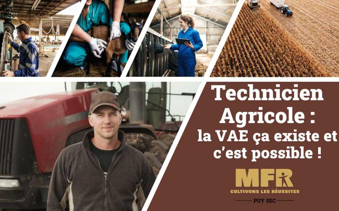 Osez la certification Technicien Agricole par la voie de la VAE