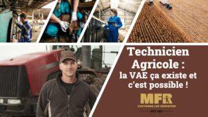 Technicien Agricole VAE -MFR Puy Sec