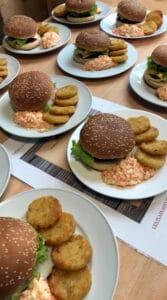 Burger maison - MFR PUY SEC-