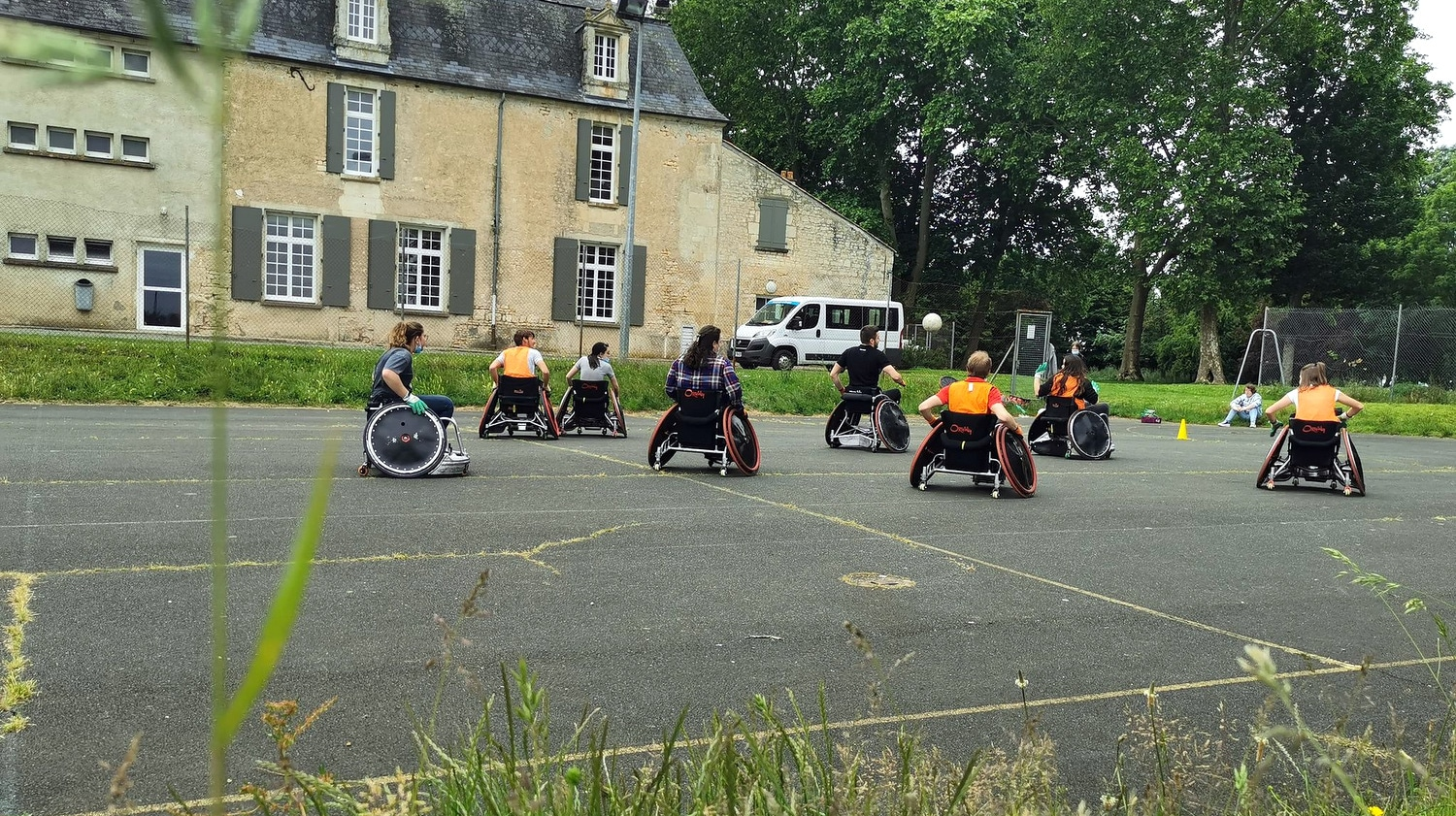 CAPa SAPVER rugby fauteuil - MFR PUY SEC-
